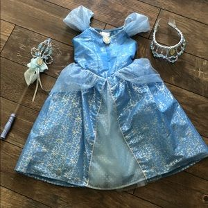 Disney Parks Cinderella Dress and accessories